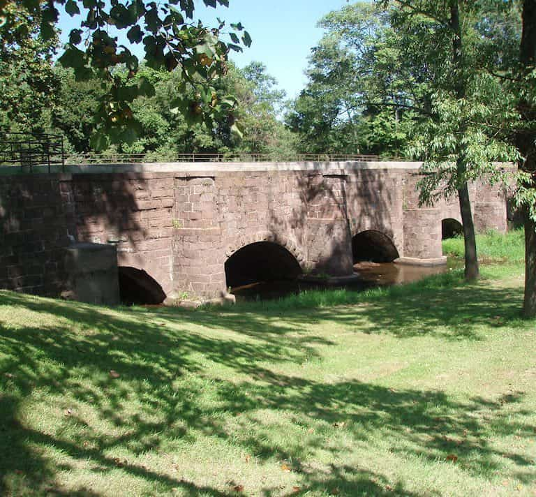 Allegheny Aqueduct and Beidler House